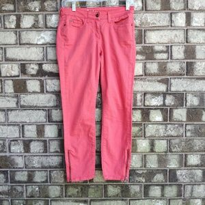 boden peachy cropped jeans size 4P